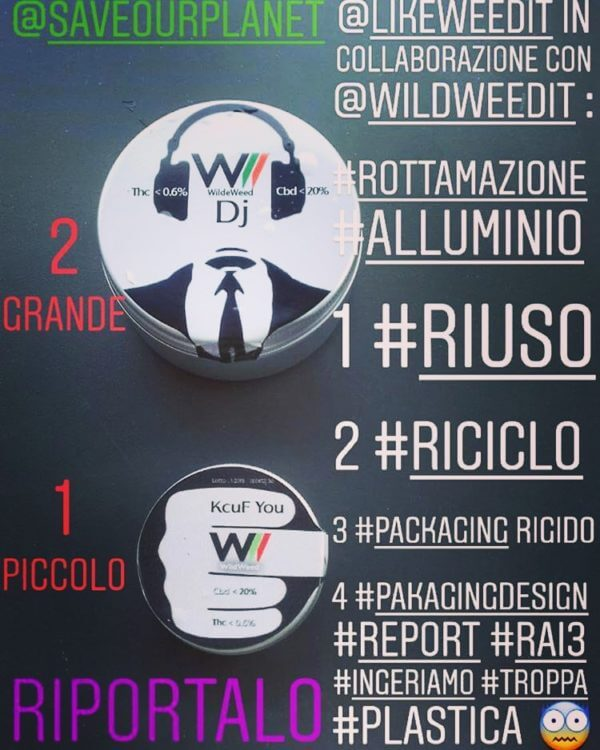 WildWeed #riuso #riciclo