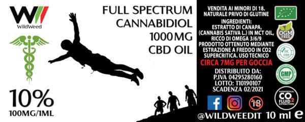 Olio CBD 10%