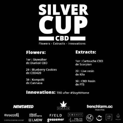skywalker silver cup cbd cannabis light