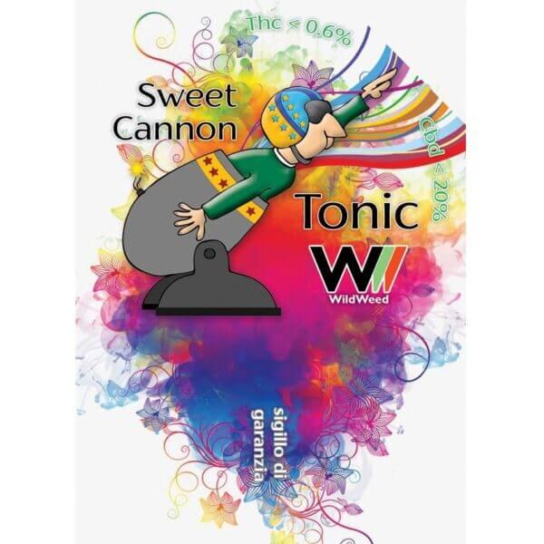 sweet cannon tonic etichetta